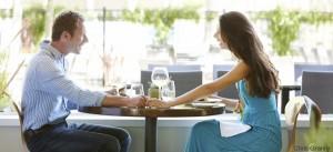 Tavolo al ristorante